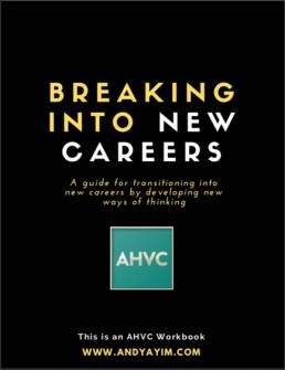 Breaking Into New Careers - Ebook - Andy Ayim - Cover